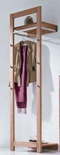 Garderobe Wandgarderobe Kernbuche massiv geölt schlicht Flur Diele elegant Flur