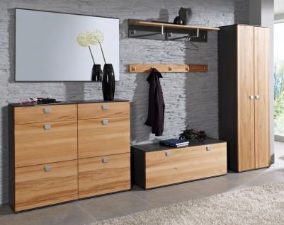 garderobe graphit g nstig online kaufen bei yatego. Black Bedroom Furniture Sets. Home Design Ideas
