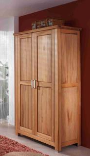 schrank kleiderschrank mit t rd mpfer in kernbuche massiv ge lt kaufen bei saku system. Black Bedroom Furniture Sets. Home Design Ideas