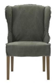 Stühle 2er Set Sessel Stuhlsessel Polster Stoffbezug stonewashed reinigungsfähig