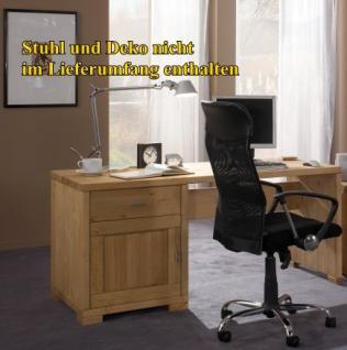 Bürotisch Schreibtisch Büromöbel Computertisch Kiefer massiv - Vorschau 2