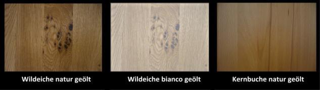 Wohnwand Vitirne Highboard Lowboard Wildeiche geölt massiv rustikal - Vorschau 2