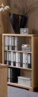 Regal Büroregal Bücherregal Kommode Schrank Büroeinrichtung Kiefer massiv
