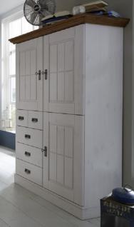 highboard anrichte schrank kiefer massiv wei bernstein. Black Bedroom Furniture Sets. Home Design Ideas