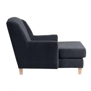 Sessel Longchair Relaxsessel XXL Love-Seat inkl. Kissen weich echter Rücken - Vorschau 4