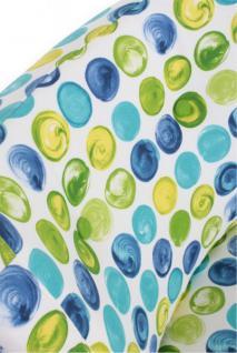 Sessel Retrosessel bunt Punkte blau grün Retrostil Stuhl - Vorschau 4