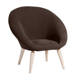 Sessel Retrosessel Retrostil Lounge Chair geschwungene Sitzschale klassik - Vorschau 2
