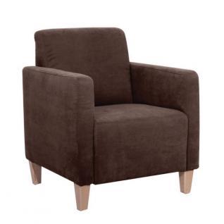 Sessel Clubsessel Cube Einzelsessel kubisch weich Polyester Textilsessel - Vorschau 2