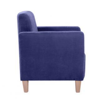 Sessel Clubsessel Cube Einzelsessel kubisch weich Polyester Textilsessel - Vorschau 3