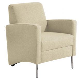 Sessel Einzelsessel Stuhlsessel geradlinig Trendfarben schlicht schick - Vorschau 5
