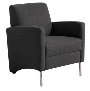 Sessel Einzelsessel Stuhlsessel geradlinig Trendfarben schlicht schick - Vorschau 2