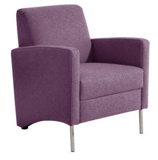 Sessel Einzelsessel Stuhlsessel geradlinig Trendfarben schlicht schick - Vorschau 3