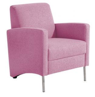 Sessel Einzelsessel Stuhlsessel geradlinig Trendfarben schlicht schick - Vorschau 4