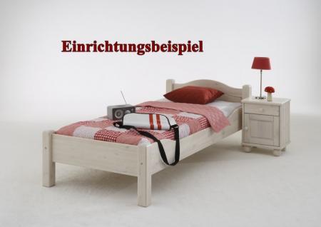 Einzelbett Doppelbett Jugendbett Gästebett Landhausstil Kiefer ...
