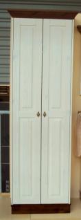 Garderobenschrank Dielenschrank Kleiderschrank 2-trg. Landhausstil Kiefer massiv - Vorschau 3