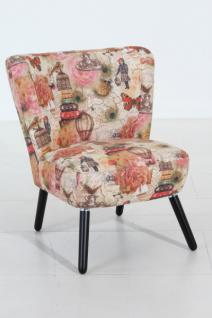 Stuhlsessel Sessel Stuhl Retro Retrostil rost Motiv Vintage Nostalgie - Vorschau 4