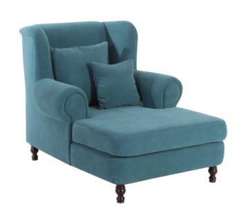 Mega-Sessel + 2x Zierkissen XXL Sessel Lounge Chair Relaxsessel in Trendfarben - Vorschau 5