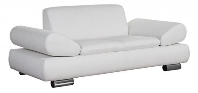 Sofa Couch 2-sitzig modern verstellbare Arme bequem Funktionssofa - Vorschau 2