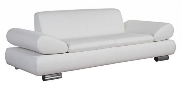 Sofa Couch 2, 5-sitzig verstellbare Armlehnen bequem Funktionssofa modern - Vorschau 1
