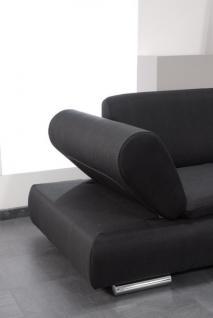 Polstergarnitur Sofa Set Garnitur Sofagarnitur modern schwarz creme grau - Vorschau 5