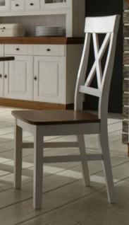 Stuhl Esszimmerstuhl Küchenstuhl 2er Set Landhausstil Kiefer massiv