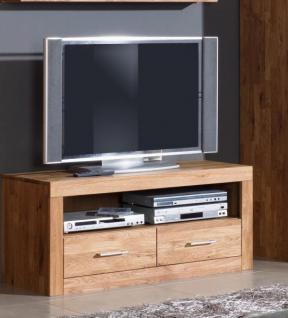 TV-Lowboard Fernsehschrank TV-Kommode Wildeiche massiv - Vorschau