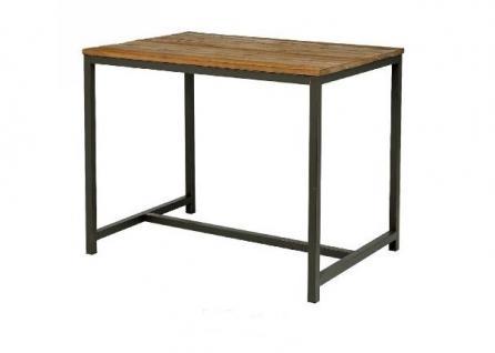 Bartisch hoher Tisch Bar Ulme Altholz antik vintage Used Look Gebrauchsspuren