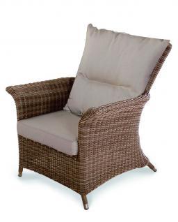 Sessel Stuhl Loungemöbel Loungesessel Lounge Gartensessel Terrasse Geflecht - Vorschau 1