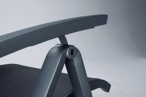 Gartenliege Sonnenliege Relaxliege Rollen verstellbare Rückenlehne Rollliege - Vorschau 5