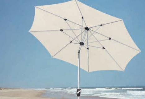Schirm Sonnenschirm Gartenschirm Garten Kurbel wasserabweisend Aluminium - Vorschau