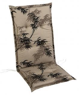 Auflagen Polster für Gartenmöbel Sesselauflagen Stehsaum bunt Baumwollstoff