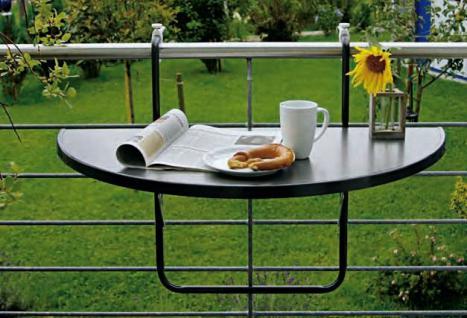 balkonh ngetisch balkon tisch h ngetisch ablage. Black Bedroom Furniture Sets. Home Design Ideas