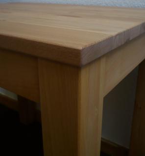 Esstisch Tisch Küchentisch 110x70 cm Kernbuche massiv geölt stabverleimt Küche