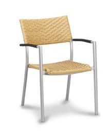 alu stapelsessel sessel stuhl garten au enbereich geflecht natur wetterfest kaufen bei saku. Black Bedroom Furniture Sets. Home Design Ideas