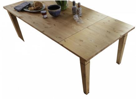 Tisch Funktionstisch Esstisch Esszimmertisch Esszimmer ausziehbar Kiefer massiv