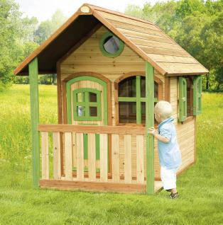 Spielhaus Holzspielhaus Hütte Spielhütte mit Veranda Zeder stabil TÜV geprüft - Vorschau 2