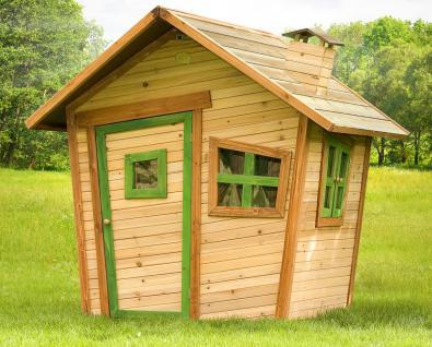 Spielhaus Hexenhaus Holzspielhütte Spielhütte Wunderland Holz TÜV geprüft
