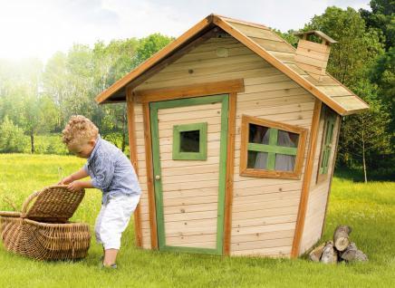 Spielhaus Hexenhaus Holzspielhütte Spielhütte Wunderland Holz TÜV geprüft - Vorschau 3