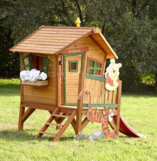 Spielhaus Holzspielhaus Spielhütte Winnie the Pooh Garten Kinder Holzspielhütte - Vorschau 3