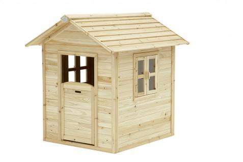 Spielhaus Spielhütte Holzspielhaus für Kinder TÜV geprüft Zedernholz stabil - Vorschau 1
