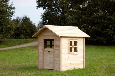 Spielhaus Spielhütte Holzspielhaus für Kinder TÜV geprüft Zedernholz stabil - Vorschau 3