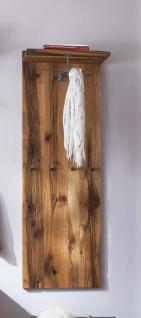 Wandpaneel Garderobenpaneel Hutablage Flur Balken Eiche massiv natur white wash
