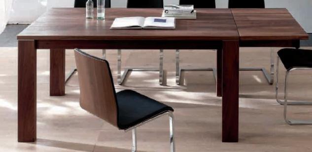Esstisch Tisch Esszimmertisch Zargenauszug Auszug Esszimmer Nussbaum geölt - Vorschau 1
