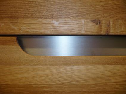 Sideboard Kommode Esszimmer Wohnzimmer Wildeiche massiv geölt bianco - Vorschau 2