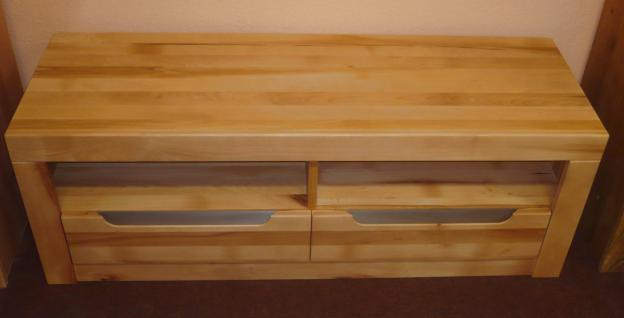 tv board lowboard tv anrichte wildeiche massiv ge lt bianco softclose kaufen bei saku system. Black Bedroom Furniture Sets. Home Design Ideas
