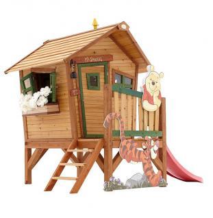 Spielhaus Holzspielhaus Spielhütte Winnie the Pooh Garten Kinder Holzspielhütte - Vorschau 1