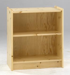 halbhohes bett hochbett schreibtisch kommode kiefer massiv natur platzsparend kaufen bei saku. Black Bedroom Furniture Sets. Home Design Ideas