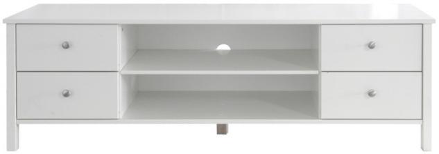 tv board tv rack tv anrichte wohnzimmer tv m bel mdf weiss lackiert kaufen bei saku system. Black Bedroom Furniture Sets. Home Design Ideas