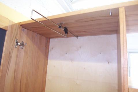 Mehrzweckschrank Kleiderschrank Garderobenschrank Garderobe Kernbuche massiv - Vorschau 4