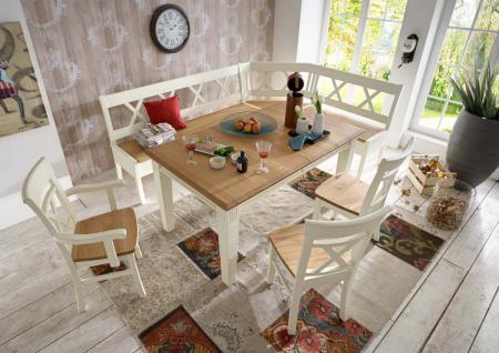 eckbankgruppe kiefer online bestellen bei yatego. Black Bedroom Furniture Sets. Home Design Ideas